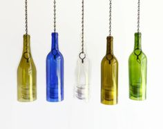 Wine Bottle Candle Holder Hanging Lantern Hurricane Indoor Outdoor Romantic Lighting
