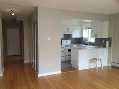 Studio - 480sq ft. $1250 Vancouver Apartment, Apartments, Tiny House, Kitchen Cabinets, Studio, Furniture, Home Decor, Decoration Home, Room Decor