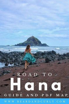 Road to Hana Ultimate Guide Ready for the most epic road trip in Hawaii? Our Road to Hana Ultimate Guide covers the 15 best stops, a printable PDF Map, and tips for the highway . Hikes In Maui, Trip To Maui, Maui Vacation, Vacation Ideas, Vacation Spots, Hawaii Trips, Maui Hawaii, Oahu, Hawaii Cake