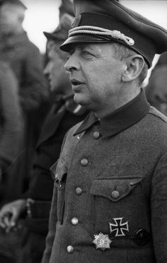 Bronislav Vladislavovich Kaminski - June 16, 1899, Vitebsk - August 28, 1944, Litzmannstadt) was the commander of the S.S. Sturmbrigade R.O.N.A. (also known as Kaminski Brigade an anti-partisan formation made up of people from the so-called Lokot Autonomy territory in the Nazi Germany occupied areas of Russia, which was later incorporated into the Waffen-SS as the S.S. Sturmbrigade R.O.N.A., on the base of which the Germans planned to create the 29th Waffen Grenadier Division of the SS RONA.