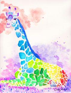 0d52fa2974ccc 58 meilleures images du tableau Girafon   Art de girafe, Girafes et ...
