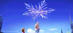happy new year animation frozen gif