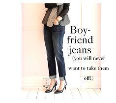 ooh we love our boyfriend jeans!