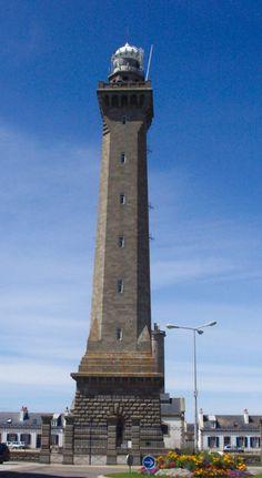 Sud Finistère : Phare d'Eckmühl (phare à terre)