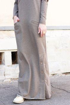 Soft Cotton Dress Long Dress Daywear Dress Casual Dress Etsy is part of Hijab fashion - Islamic Fashion, Muslim Fashion, Modest Fashion, Fashion Dresses, Trendy Fashion, Hijab Casual, Hijab Chic, Casual Dresses, Mode Abaya