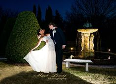 Amazing real wedding photo at Antrim 1844