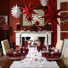 Decorando o Natal: Vermelho