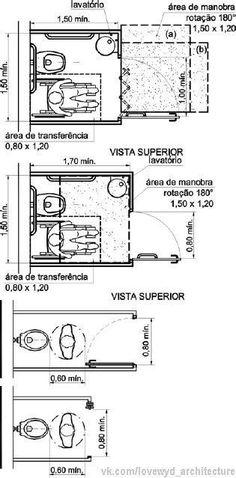 Scribd is the world's largest social reading and publishing site. Autocad, Interior Design Tips, Interior Design Living Room, Architect Data, Human Dimension, Public Bathrooms, Toilet Design, Bathroom Layout, Ada Bathroom