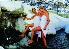 #Wellnesshotel #Tirol #Ötztal #Wellness #Obergurgl Skiing, Strapless Dress, Ski, Strapless Gown