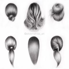 Learn To Draw A Realistic Rose - Drawing On Demand If you're struggling to draw hair, then these hair drawing tips may prove to be useful. Pencil Drawing Tutorials, Pencil Art Drawings, Art Drawings Sketches, Cute Drawings, Hair Drawings, Drawing Ideas, Drawing Drawing, How To Draw Hair, Learn To Draw