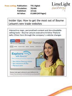10 July - TTG Digital - Bourne Website