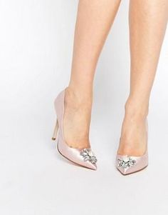 ASOS PRICELESS Embellished Pointed High Heels