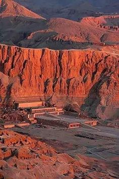 Hatschepsut Temple Egypt - Valley of the Kings, Luxor - Egypt Ancient Ruins, Ancient Egypt, Ancient History, Places Around The World, Travel Around The World, Around The Worlds, Places To Travel, Places To See, Travel Destinations