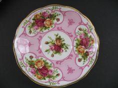 Royal Albert Rose Cameo Pink Trio Cup Saucer Salad Plate Teacup | eBay