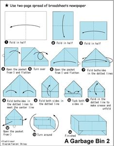 Origami Bowl Easy How To Make A Paper Box Origami Easy Origami Box Instructions How