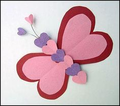 Valentine's butterfly