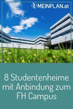Wo kannst du am besten wohnen, um möglichst schnell zur FH Campus Wien nach Favoriten zu kommen? Diese acht Studentenheime Wiens haben eine gute Öffi-Anbindung. Fh Campus, Der Bus, Student Home, Student Dormitory, Green Life, To Study