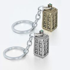 Movie Jewelry Doctor Who Key Chains Ancient Silver TARDIS keychain Movie Props Metal Alloy Keychain men Gift $3.97   #style #styles #model #streetstyle #stylish #love #dress #fashionista #beautiful #instafashion #beauty #cute #cool #instastyle #instalike