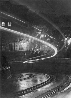 night phantoms, 1938 by imre kinszki