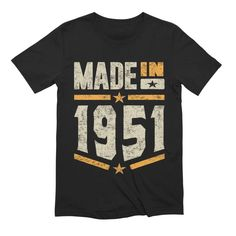Happy 50th Birthday, Birthday Gifts, 50 Birthday, Cool Gifts, Best Gifts, Daddy Gifts, Tee Design, Lower Case Letters, Vintage Tees