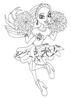 monster high coloring pages ghoul sports google search