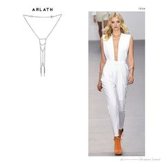 The Arlath Choker is paired with her perfect match in this sexy Spring 2016 silhouette by @issalondon : Check out the complete Elevation Collection Style Guide at thedarklight.briannalamar.com