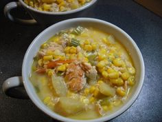 Foodycat: Smoked salmon chowder