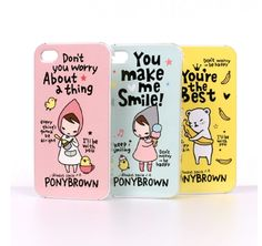 Pony Brown iPhone 4/4S Case