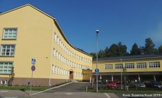 Harjunrinteen koulu, Kalevankatu 3, Riihimäki. Kuva: Susanna Kuusi