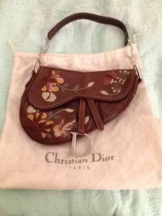 Vintage Dior Equestrian Saddle Embroidered Handbag - $550.00