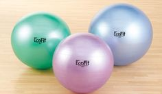 EcoFit Stability Ball: Tired of rolling around on a ball that's potentially harmful to you and the Earth? The EcoFit Anti-Burst Stability Ball ($31) helps take some of the worry away. Its outer layer is made of phthalate-free, latex-free, non-PVC material to help ensure that harmful irritants stay away from your skin and the air.