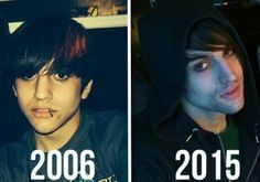 Awwwwww he looks almost the exact same! Iconic