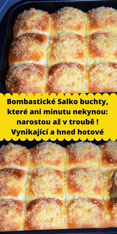 Bombastické Salko buchty, které ani minutu nekynou: narostou až v troubě ! Vynikající a hned hotové Czech Recipes, Ethnic Recipes, Oreo Cupcakes, Cornbread, Banana Bread, Sweet Treats, Food And Drink, Cooking Recipes, Sweets