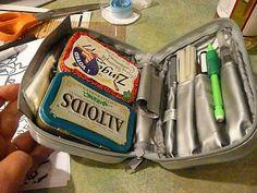 I love art on the go!Watercolor Travel Kit....  Creative Journey blog.