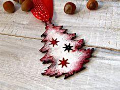ozdoby choinkowe hand made styl schabby chic by Eco Manufaktura christmas decor Decoupage, Shabby Chic, Christmas Decorations, Etsy Shop, Creative, Handmade, Vintage, Hand Made, Vintage Comics