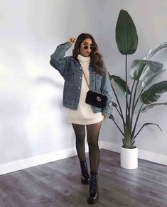 Trendy Fall Outfits, Casual Winter Outfits, Winter Fashion Outfits, Simple Outfits, Look Fashion, Stylish Outfits, Girl Fashion, Classic Fashion, Winter Ootd