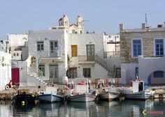 Grèce - Paros, port de peche