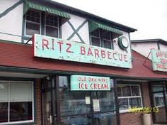 The Ritz at fairgrounds in Allentown, PA. Chicken & waffles, Tin Roof ice cream!!