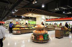 Lotus Fresh Supermarket in Shanghai by HEAD Architecture and Design - Design Milk