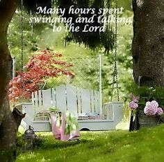Spending times with God :-)