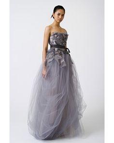 Vera Wang lilac tulle-gracefully beautiful