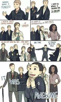 Mean Girls/ Sherlock crossover
