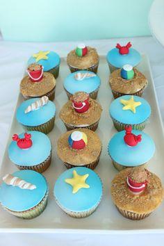 cupcakes con estrellitas!!