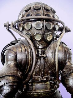 Diving suit designed by Alphonse and Théodore Carmagnolle in 1882