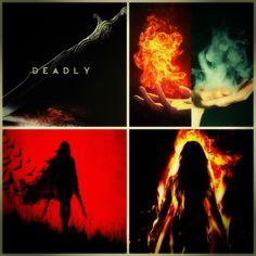 [Celaena Sardothien/Aelin Ashryver Galathynius ~ Heir of Ash and Fire (made by me) :)]