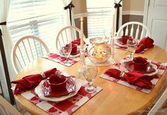 Valentine's Day Tablescape