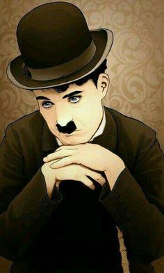 Funny Drawings For Kids Laughing 67 Ideas Celebrity Caricatures, Celebrity Portraits, Charlie Chaplin, Graffiti Kunst, Charles Spencer Chaplin, Laurel And Hardy, Kids Laughing, Funny Drawings, Anime Kunst