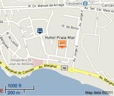 hotel praia mar carcavelos – Pesquisa Google Map, Location Map, Maps