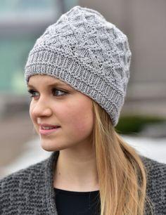 Knitting Patterns Free, Free Knitting, Knitted Hats, Knit Crochet, Winter Hats, Inspiration, Crocheting, Bonnets, Fashion