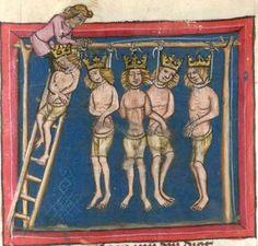 Rudolf / Jansen Enikel, Jans: Weltchronik in Versen - Mischhandschrift aus Christ-herre-Chronik um 1370 Cgm 5  Folio 127r